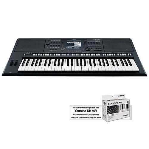 Yamaha PSR-S750 61-Key Arranger Keyboard-thumbnail