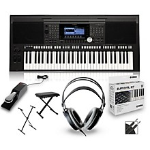 Yamaha PSR-S970 Arranger Keyboard Package