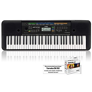 Yamaha PSRE253 61 Key Portable Keyboard by Yamaha