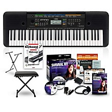 Yamaha PSRE253 61-Key Portable Keyboard Package