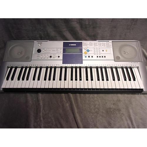 used yamaha psre323 61 key portable keyboard guitar center. Black Bedroom Furniture Sets. Home Design Ideas