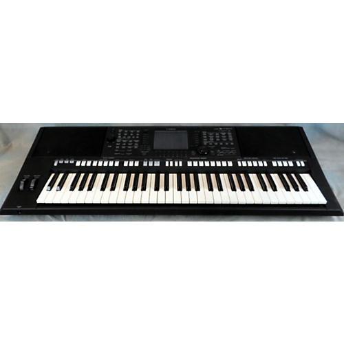 Yamaha PSRS750 61 Key Black Arranger Keyboard