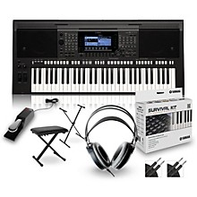 Yamaha PSRS770 with Headphones, Bench, Stand and Sustain Pedal