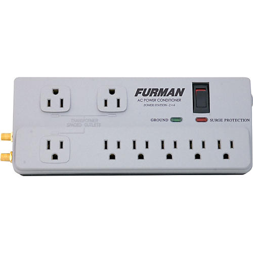 Furman PST-2+6 Power Station Series AC Power Conditioner-thumbnail