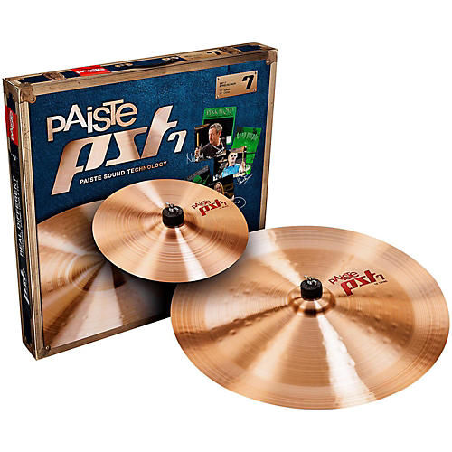 Paiste PST 7 Effects Pack 10 and 18 in.
