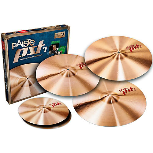 Paiste PST 7 Session Cymbal Set with Free 18