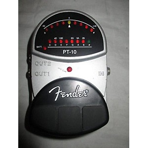 Pre-owned Fender PT-10 Tuner Pedal by Fender