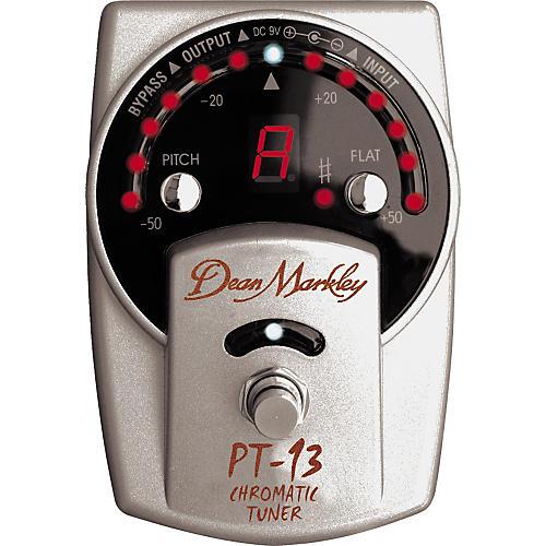 Dean Markley PT13 Chromatic Pedal Tuner-thumbnail
