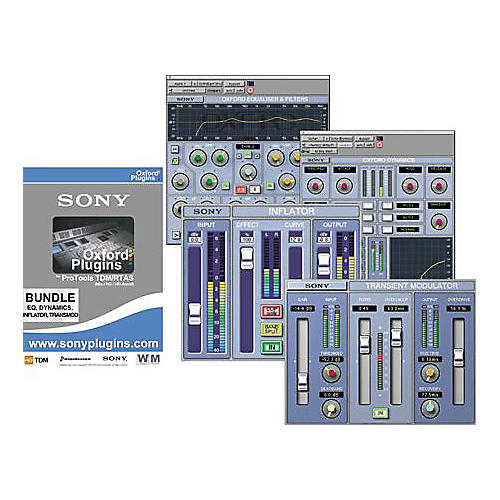 Sony PTH-SOX1G2 Oxford Plug-ins S-Ox Box Bundle for Pro Tools TDM