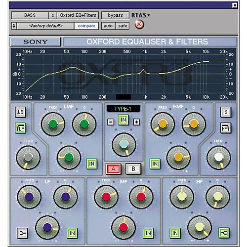Sony PTL-REQG2 Oxford EQ Plug-in for Pro Tools LE-thumbnail