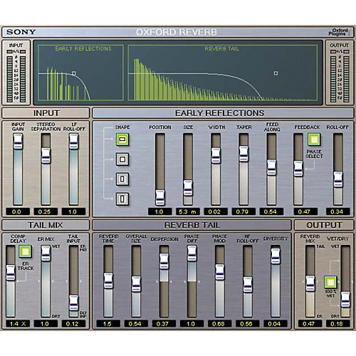 Sony PTL-REVG2 Oxford Reverb for Pro Tools LE-thumbnail