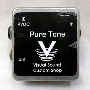 Pre-owned Visual Sound PURE TONE BUFFER Pedal by Visual Sound