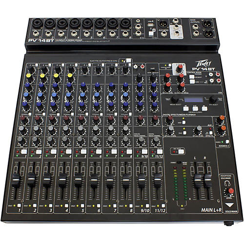 Peavey PV 14 BT Mixer with Bluetooth-thumbnail