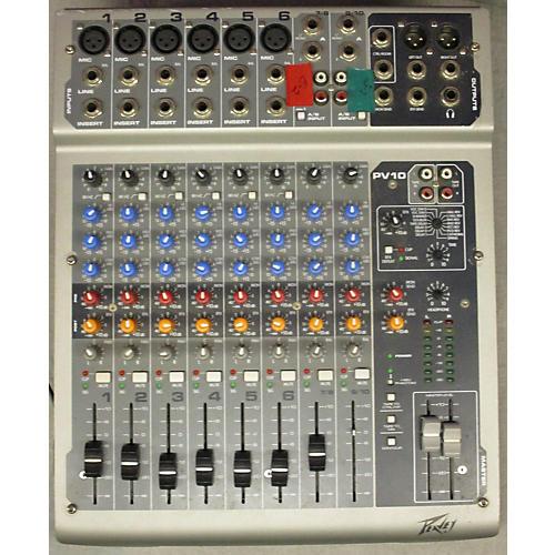 Peavey PV10 Unpowered Mixer-thumbnail
