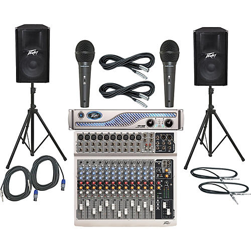 Peavey PV14 / IPR 1600 / PV115 PA Package