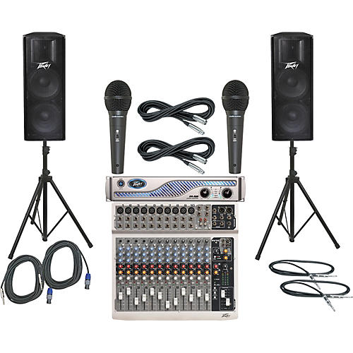 Peavey PV14 / IPR 3000 / PV215 PA Package-thumbnail
