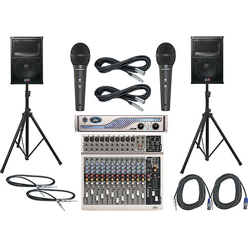 Peavey PV14 / IPR 3000 / SP2 PA Package-thumbnail