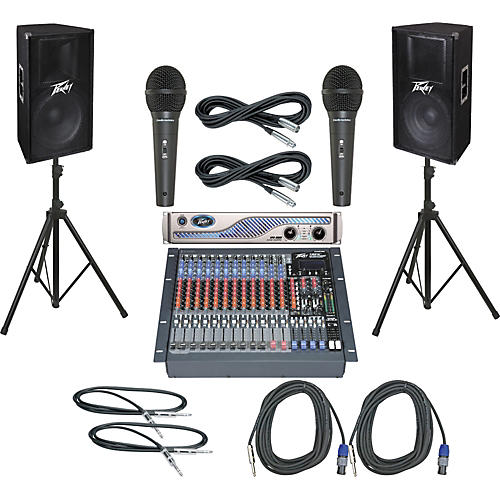 Peavey PV16FX / IPR 3000 / PV115 PA Package