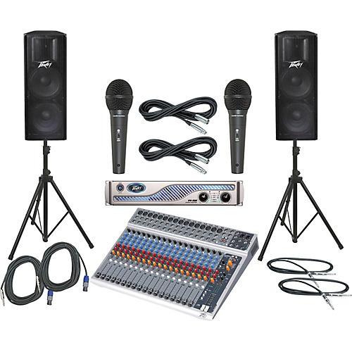 Peavey PV20 USB / IPR 3000 / PV215 PA Package-thumbnail