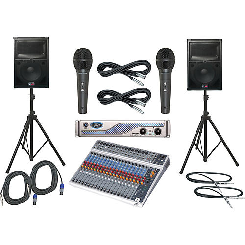 Peavey PV20 USB / IPR 3000 / SP2 PA Package-thumbnail