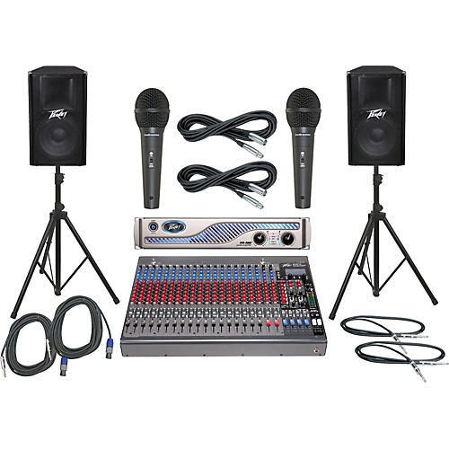 Peavey PV24FX / IPR 3000 / PV115 PA Package