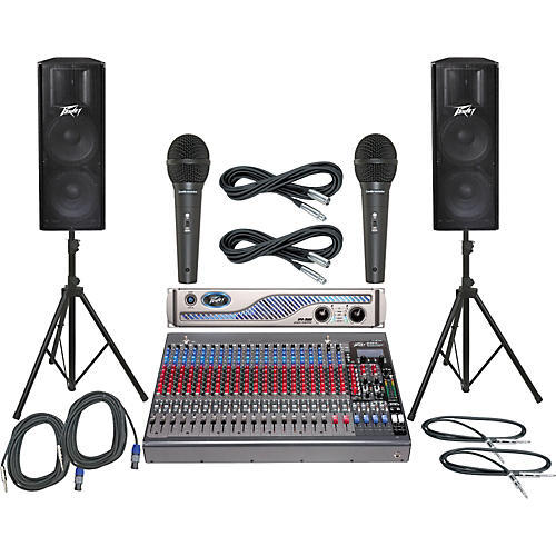 Peavey PV24FX / IPR 3000 / PV215 PA Package