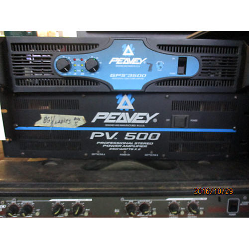 Peavey PV500 Power Amp