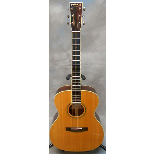 In Store Used PVO-18DLX Acoustic Electric Guitar-thumbnail