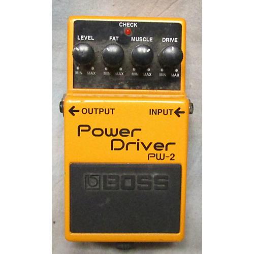 Boss PW2 POWER DRIVER Effect Pedal