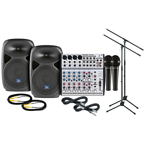 Behringer PXB120 / UB1202 PA Package-thumbnail