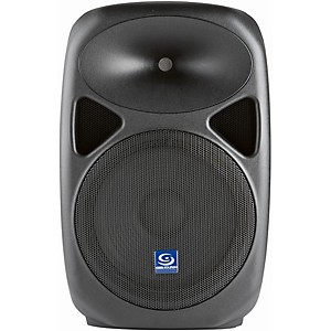 Gem Sound PXB120USB 12 inch Powered Speaker with USB/SD Media Player