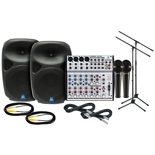 Behringer PXB150 / UB1202 PA Package-thumbnail