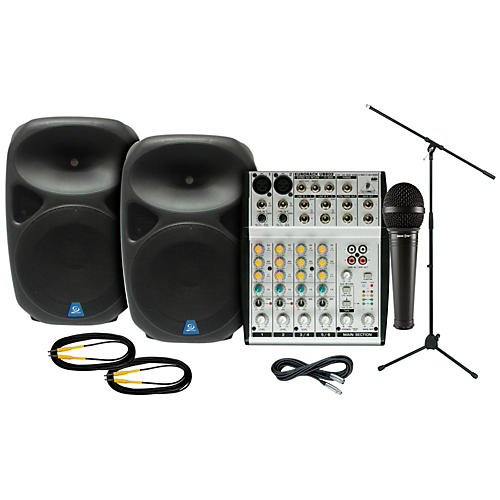 Behringer PXB150 / UB802 PA Package-thumbnail