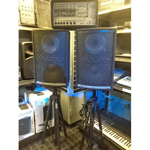 Alto Pa System 400W Powered Mixer & 12in Non Powered Speakers Sound Package
