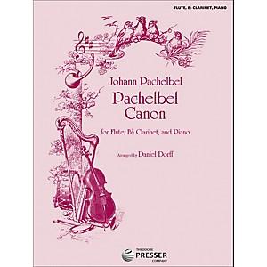 Carl Fischer Pachelbel Canon - Flute/Bb Clarinet/Piano by Carl Fischer