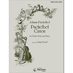 Carl Fischer Pachelbel Canon - Violin/Viola/Piano by Carl Fischer