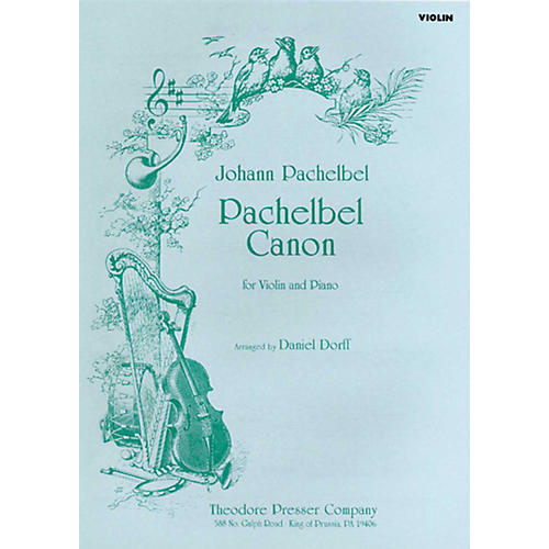 Carl Fischer Pachelbel Canon (for Violin and Piano)-thumbnail