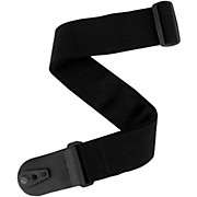D'Addario Planet Waves Pad Lock Guitar Strap Black