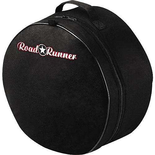 Road Runner Padded Snare Drum Bag Black 10 x 6 in.