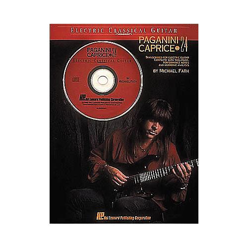Hal Leonard Paganini - Caprice No. 24 (Book/CD)-thumbnail