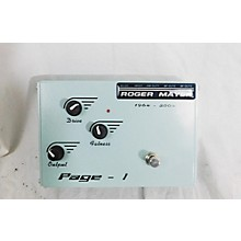 Roger Mayer Page 1 Effect Pedal