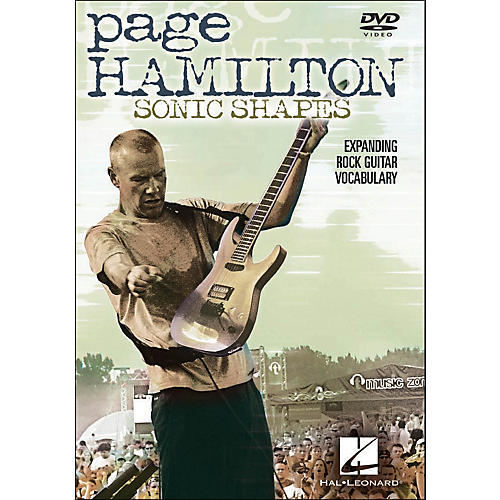 Hal Leonard Page Hamilton - Sonic Shapes: Expanding Rock Guitar Vocabulary (DVD)-thumbnail