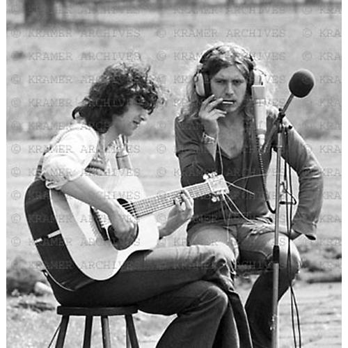 ZZZ Page and Plant Recording at Stargroves, England, 1972