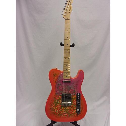 used fender paisley telecaster electric guitar guitar center. Black Bedroom Furniture Sets. Home Design Ideas