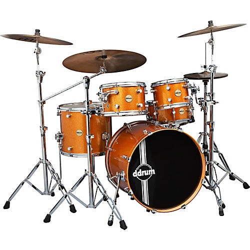 Ddrum Paladin Maple 5-Piece Shell Pack Inca Gold