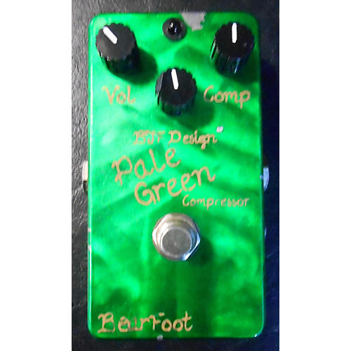 In Store Used Pale Green Compressor Effect Pedal-thumbnail