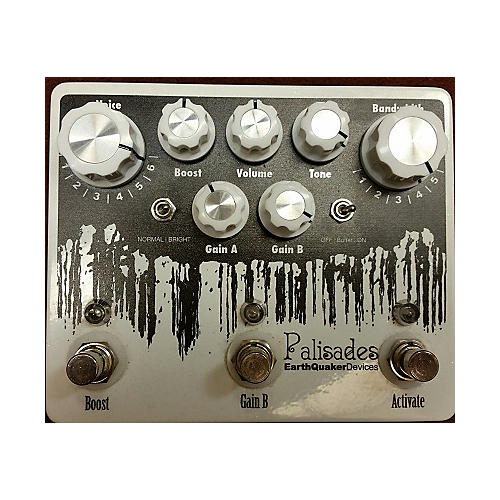 Earthquaker Devices Palisades Mega Ultimate Overdrive Effect Pedal-thumbnail