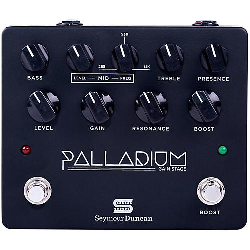 Seymour Duncan Palladium Gain Stage Distortion Guitar Effects  Pedal (Black)-thumbnail
