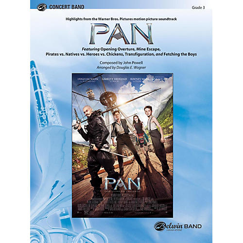 BELWIN Pan: Highlights from the Warner Bros. Pictures Motion Picture Soundtrack Grade 3 (Medium Easy)-thumbnail