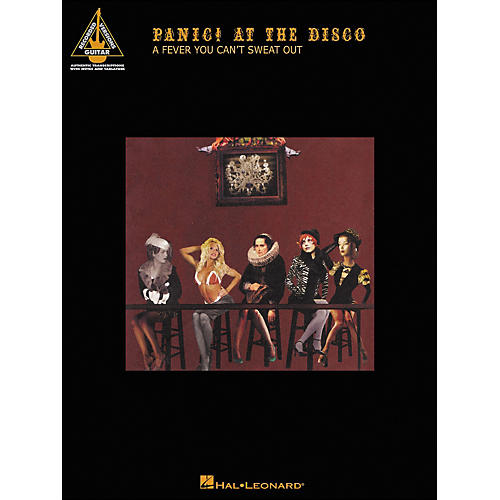 Hal Leonard Panic! At The Disco - A Fever You Can't Sweat Out Tab Book-thumbnail
